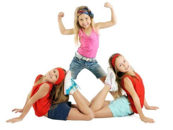 степ аеробіка для дітей