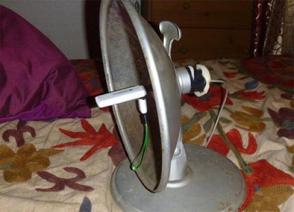 антена для 3g модему своїми руками домашніх умовах