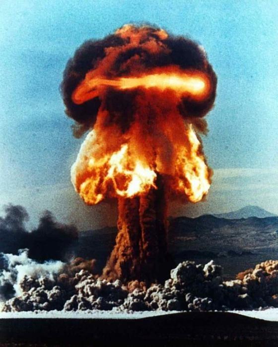 Атомный взрыв и его последствия