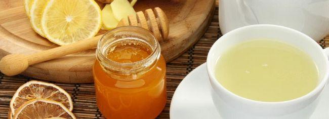 Рецепт чаю з лимоном і медом