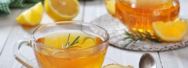 Рецепт імбирного напою з лимоном