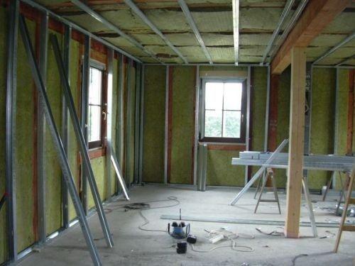 Чем обшивают стены внутри дома