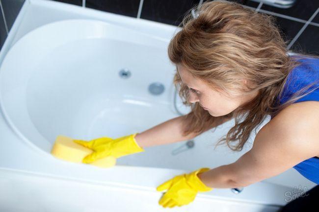 Чем покрасить чугунную ванну
