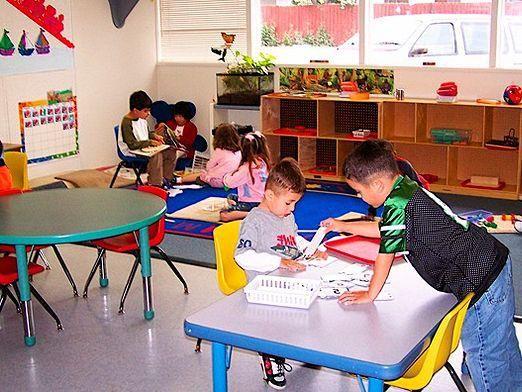 Что делают в детском саду?