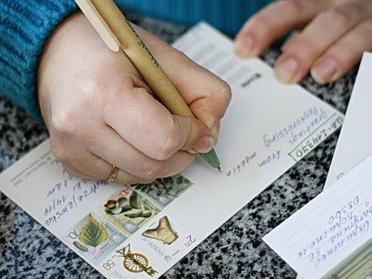 Что написать в открытке?