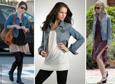 Що носити з джинсової курткою