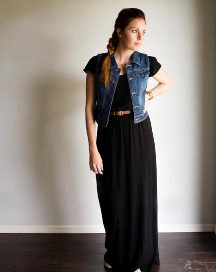 джинсові жилетки жіночі