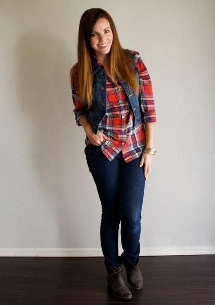 джинсові жилетки