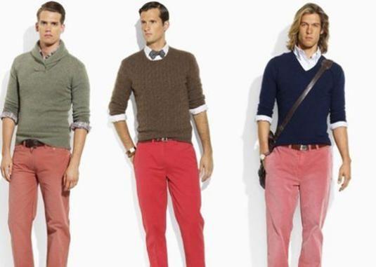 Что с чем носить мужчинам?