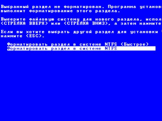 Что такое форматирование диска?
