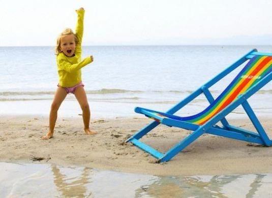 Что взять на море ребенку?