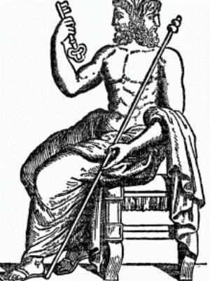 Двуликий янус - бог дверей, границ и переходов