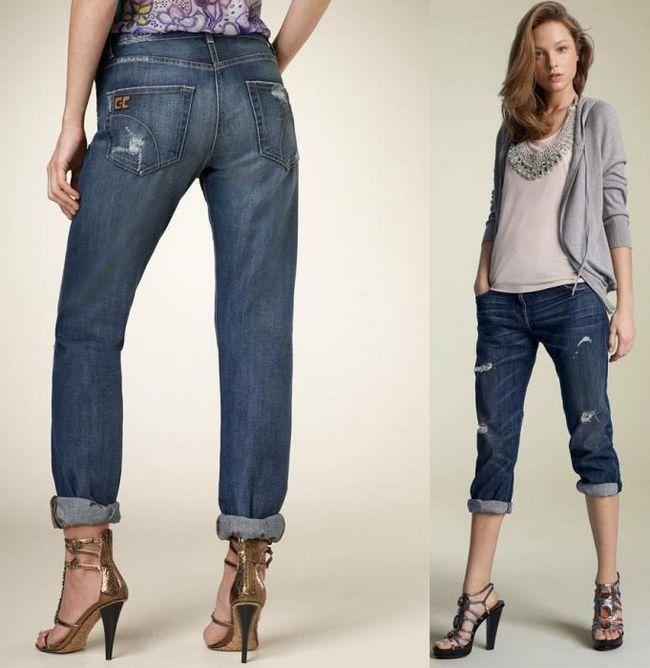 джинси бойфренди з чим носити