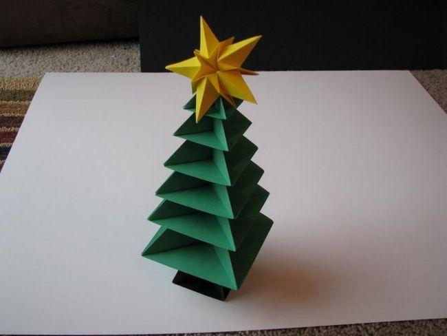 Елка-оригами: создаем шедевры в модульной технике