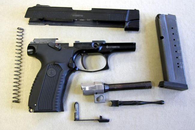 пістолет Яригіна травматичний