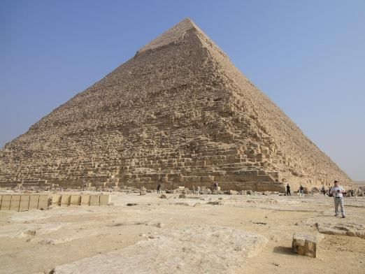 Из чего сделаны пирамиды?