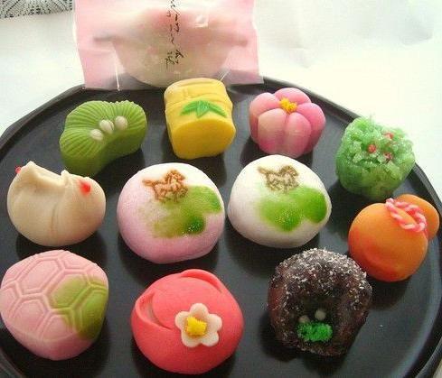 традиційні японські солодощі