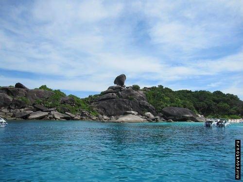 Экскурсия на симиланские острова, таиланд