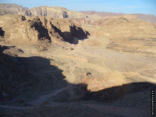 Экскурсия в цветной каньон, египет