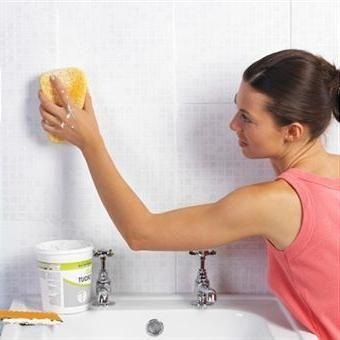 як прибрати цвіль у ванній