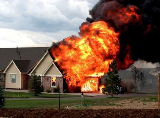 К чему снится горящий дом?