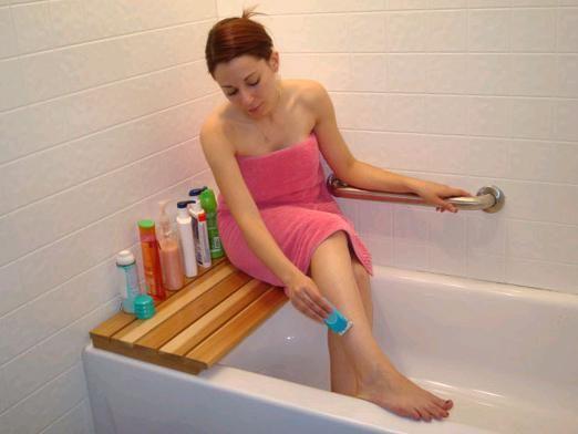 Как брить ноги?