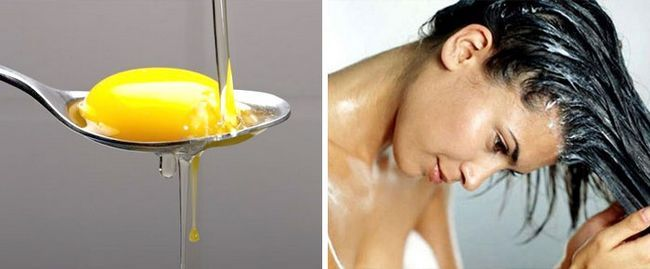Альтернатива шампуню: наносите на пасма жовток
