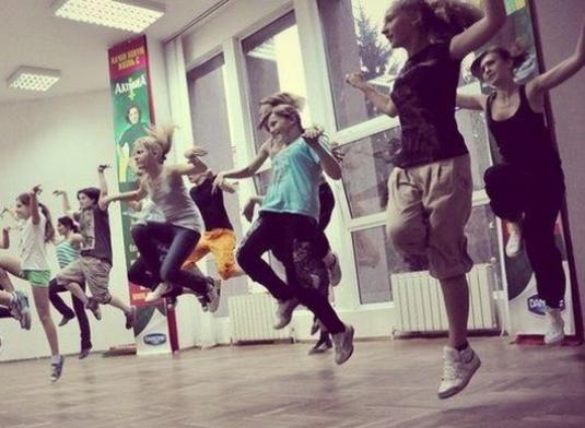 Як діти танцюють хіп хоп?
