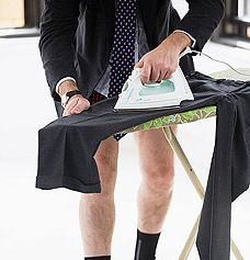 як гладити чоловічі штани