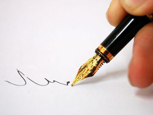 Как изменить почерк?