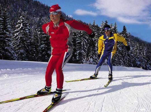 Как кататься на лыжах?