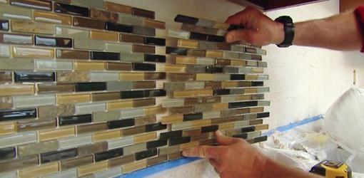 як класти плитку мозаїку