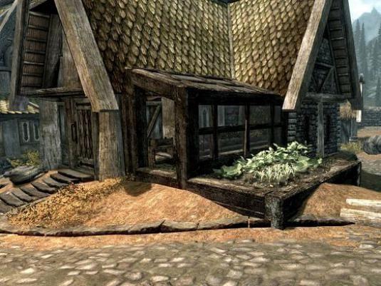 Как купить дом в skyrim?