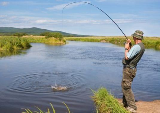 Как ловить на озере?