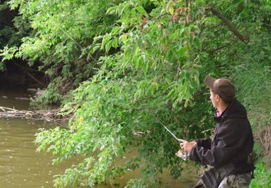 Как ловить на реке?