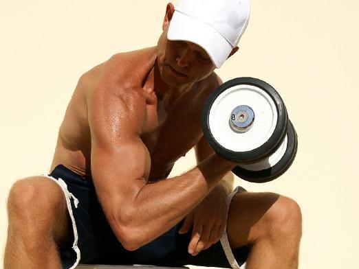 Как накачать мышцы на руках?