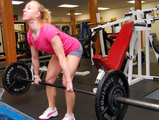 Как накачать мышцы спины?