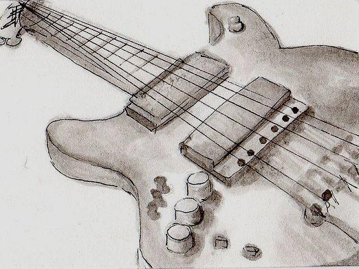 Как нарисовать гитару?
