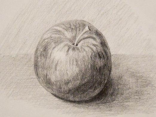 Как нарисовать яблоко?