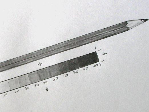Как нарисовать карандаш?