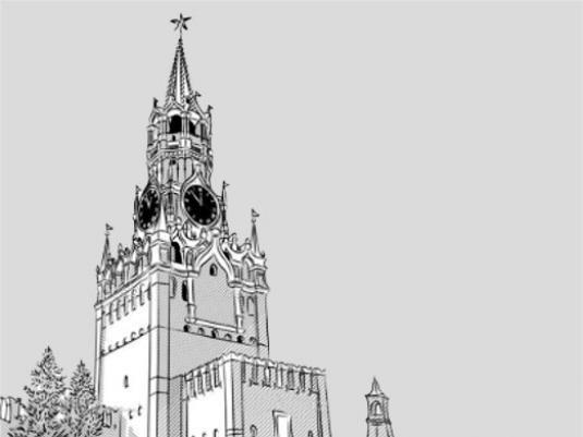 Как нарисовать кремль?