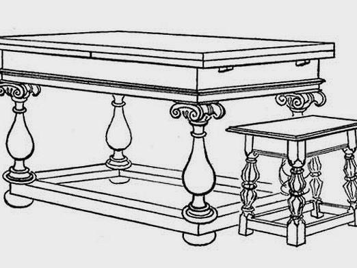 Как нарисовать мебель?