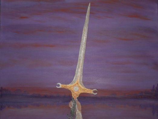 Как нарисовать меч?
