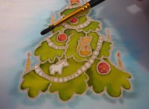 Как нарисовать новогоднюю открытку?