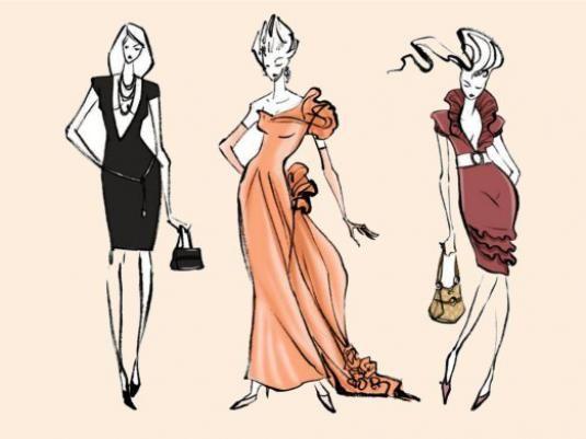 Как нарисовать платье?