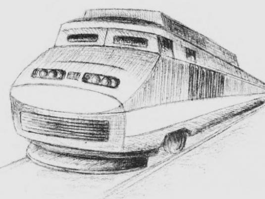 Как нарисовать поезд?