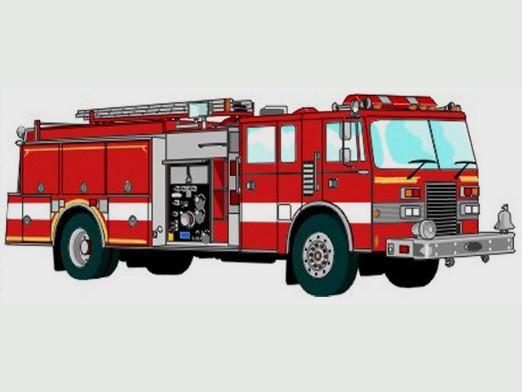 Как нарисовать пожарную машину?