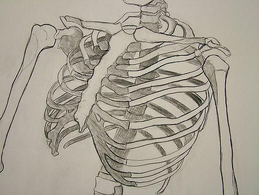 Как нарисовать скелета?