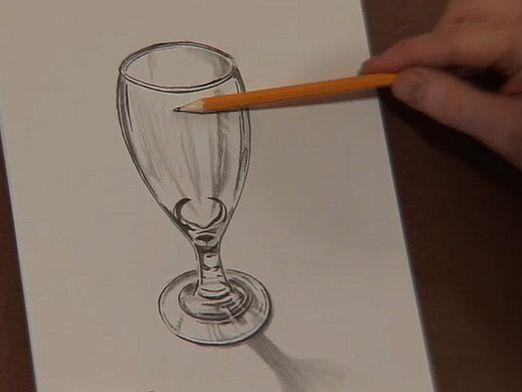 Как нарисовать стекло?