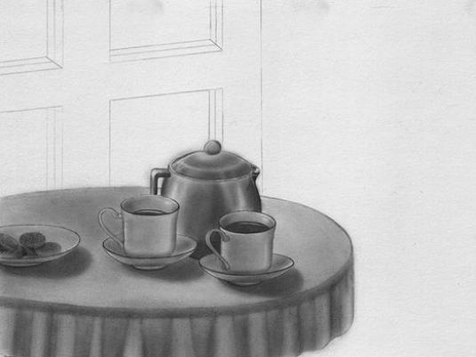 Как нарисовать стол?